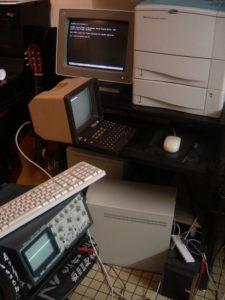 Le même montage sur une Debian