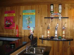 Déco vintage du bar