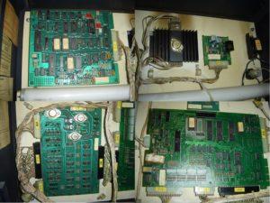 Patchwork des PCB en façade