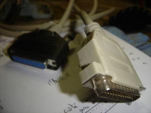 Connecteurs DB-25 finalisés
