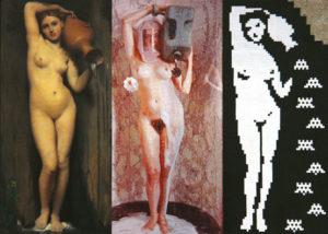 La Source, d'Ingres - L'œuvre originale et les dérivées modernes