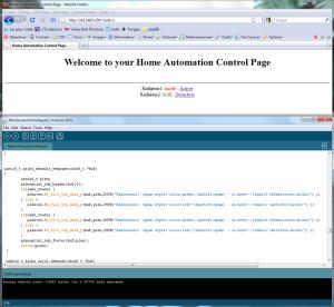 En quelques lignes de code, une page web commandant les périphériques !