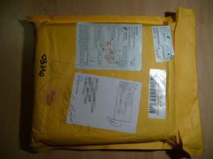 Un paquet mystère en provenance de Chine.