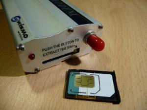 La carte SIM B&You prête à reprendre du service.